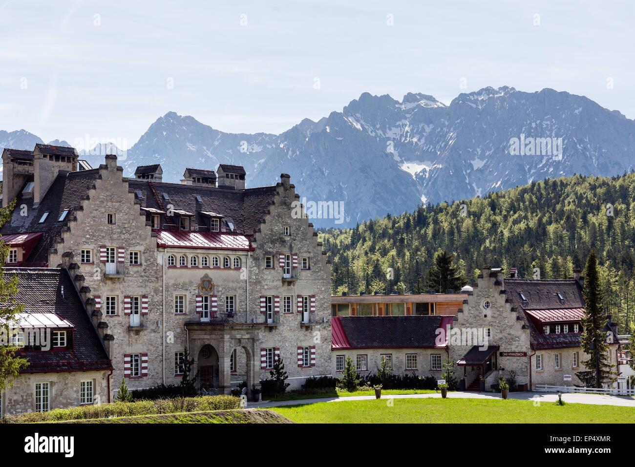 Schloss Kranzbach Stockfotos Amp Schloss Kranzbach Bilder
