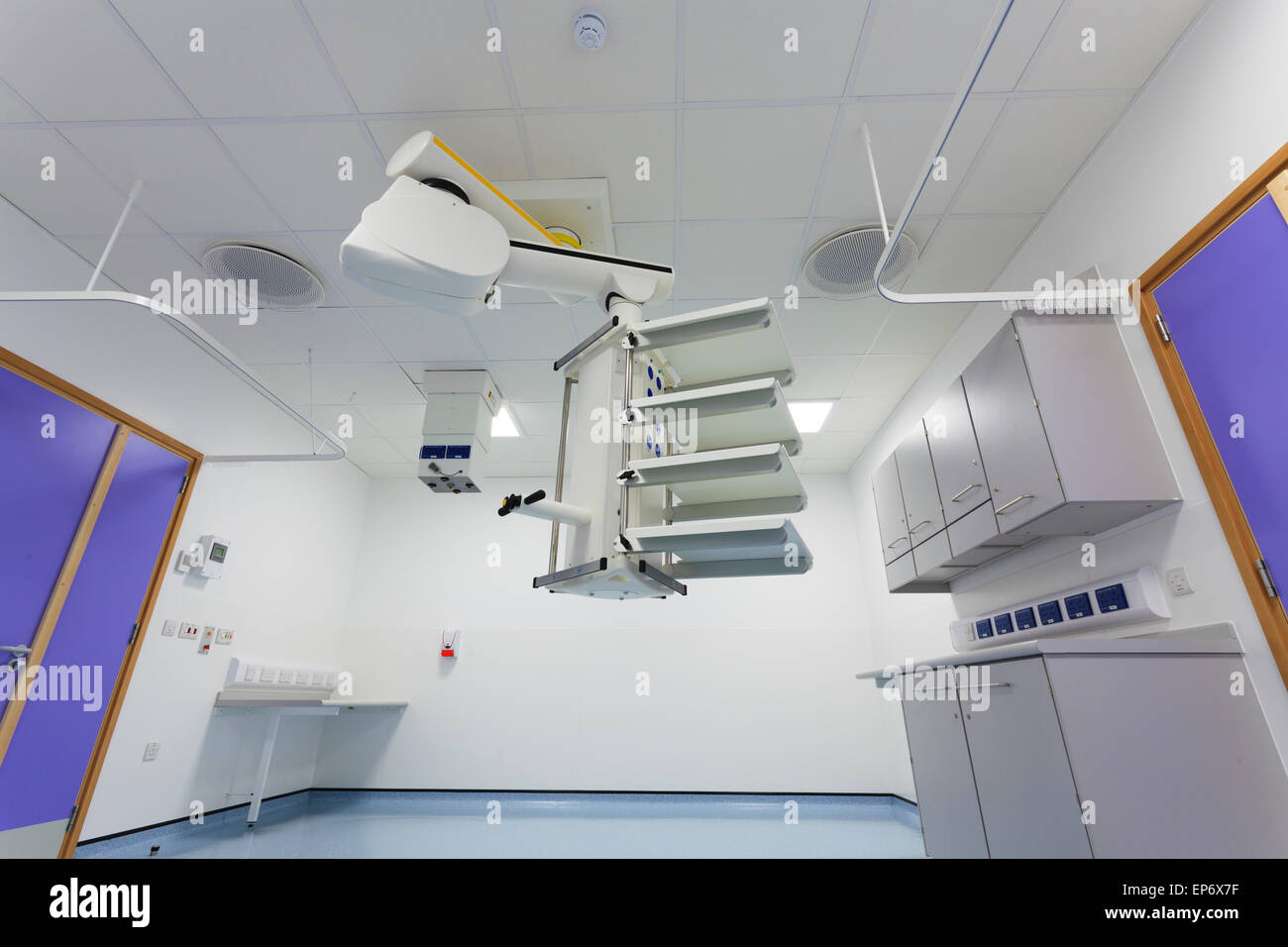 Neue unbesetzten Endoskopie-Abteilung in Worthing Krankenhaus Stockbild