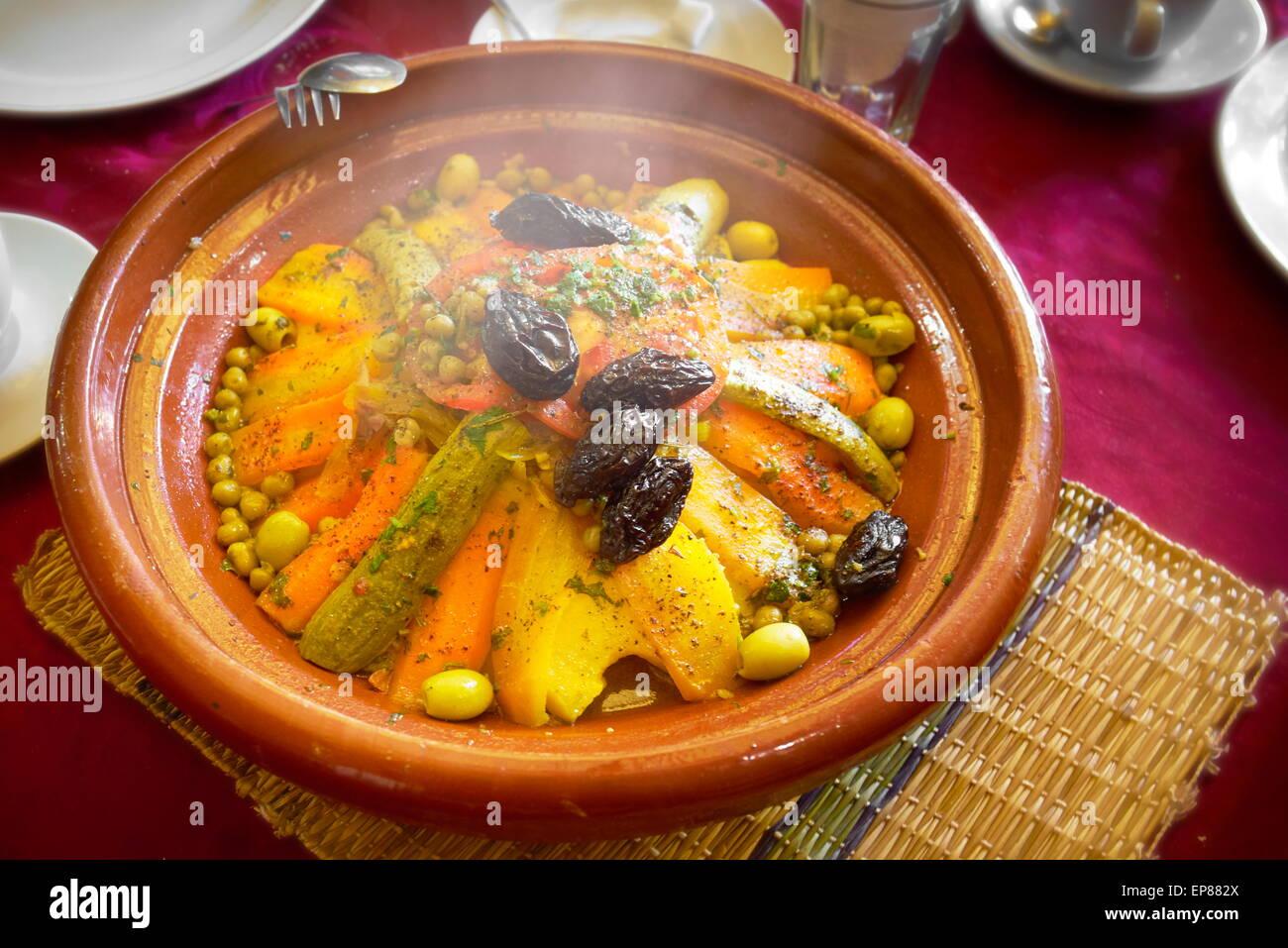 Bon Traditionelle Marokkanische Küche   Tajine. Marokko