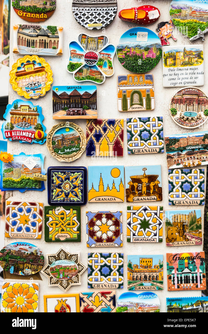 Bunte Kühlschrank Magnet touristische Souvenirs von Granada zum ...
