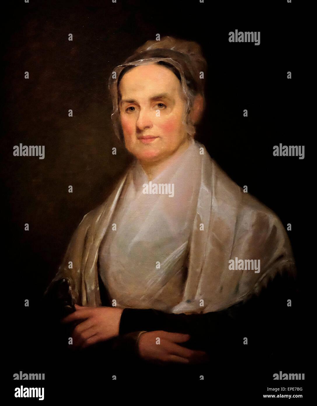 Lucretia Mott, Quaker 1842 Joseph Kyle Stockbild