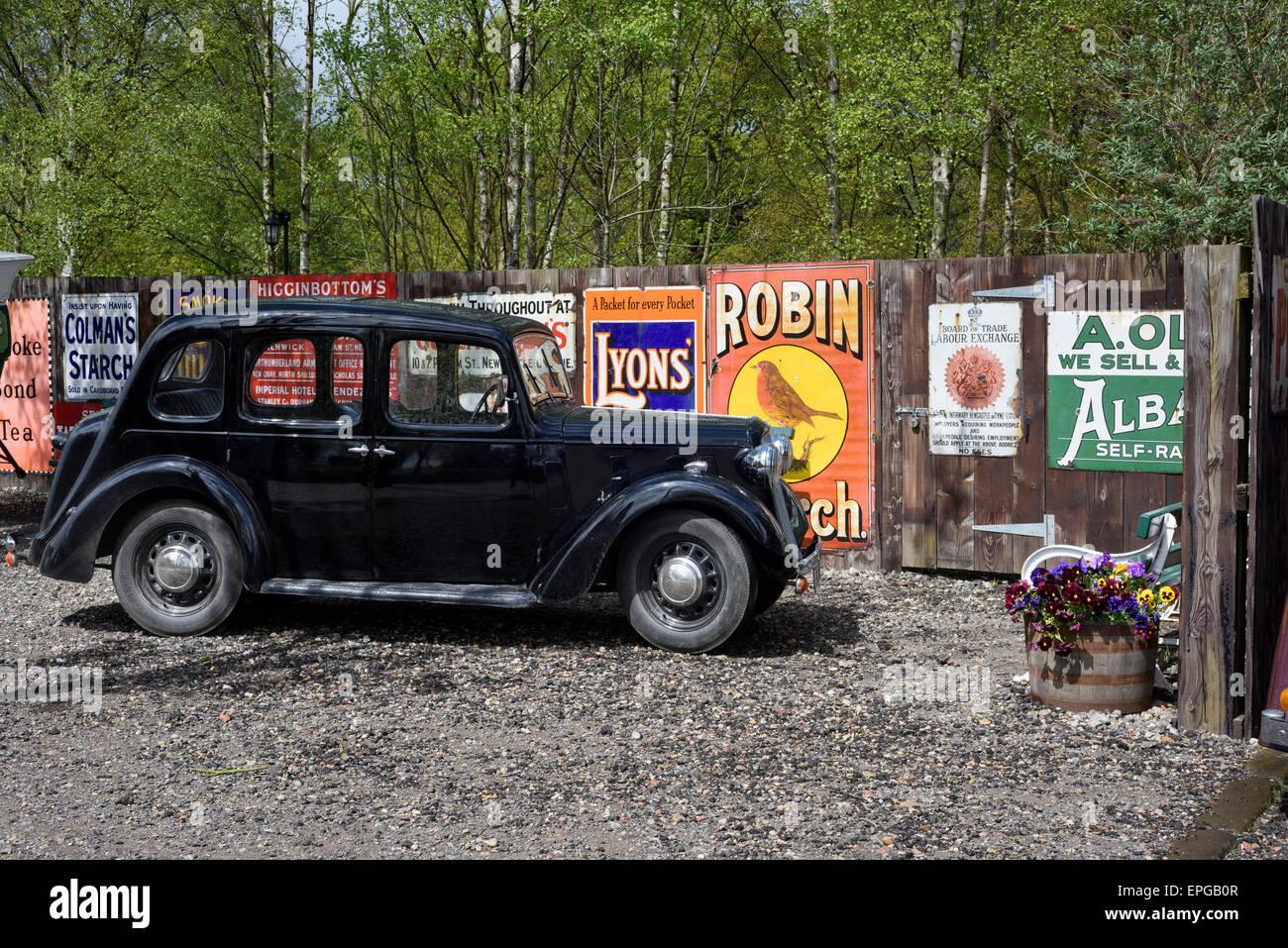 Austin Cambridge 10 PKW Stockbild