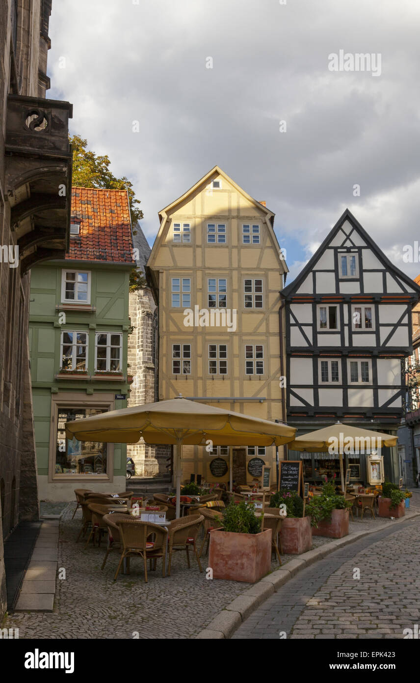 Quedlinburg Stockbild