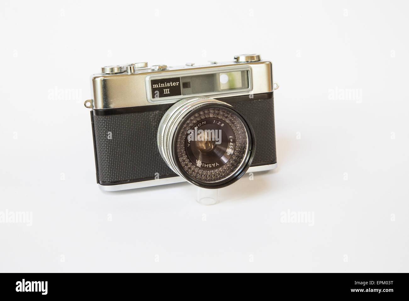 Yashica minister iii entfernungsmesser 35mm kamera ca. 1970 mit