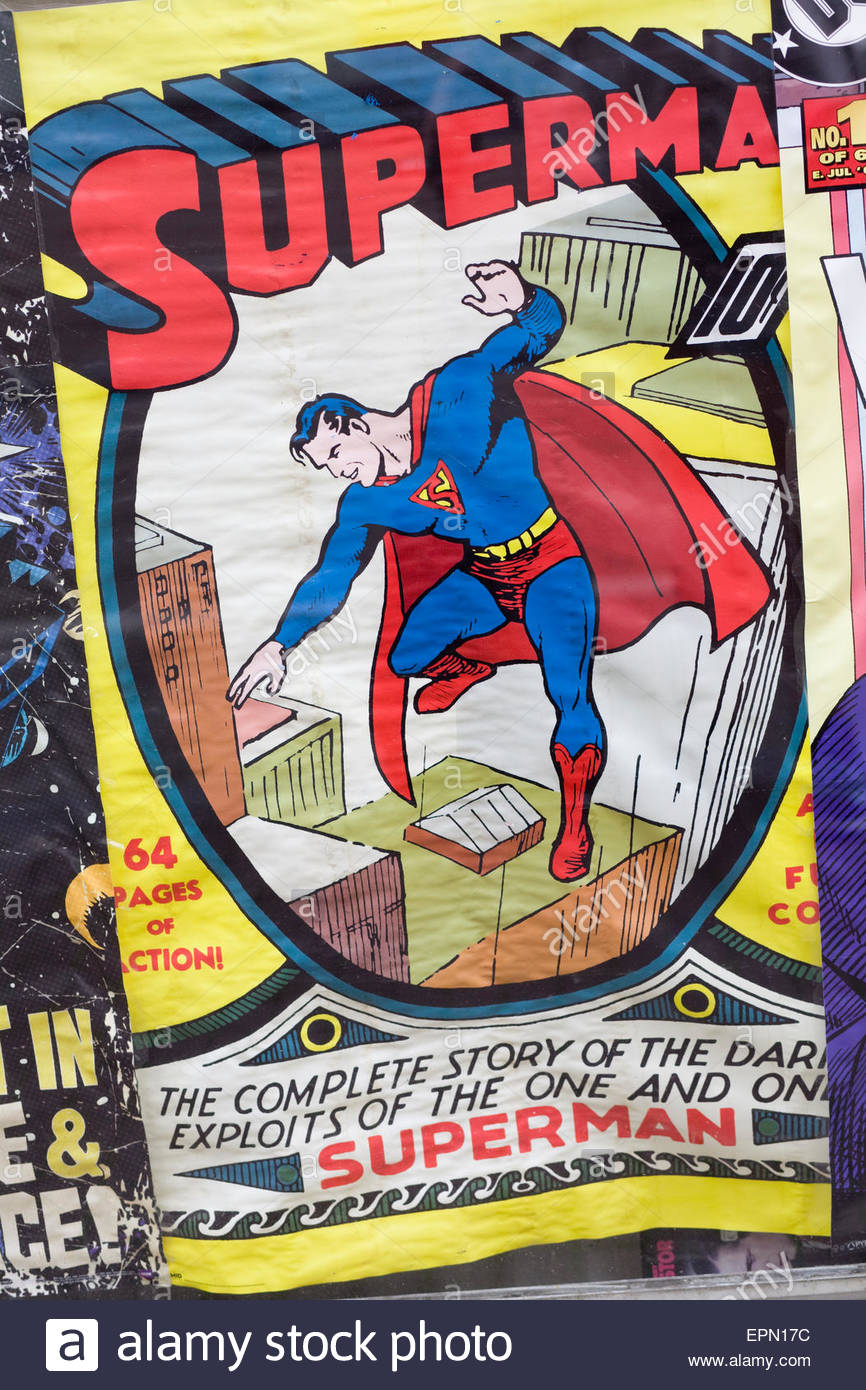 Superman datiert Pfennig