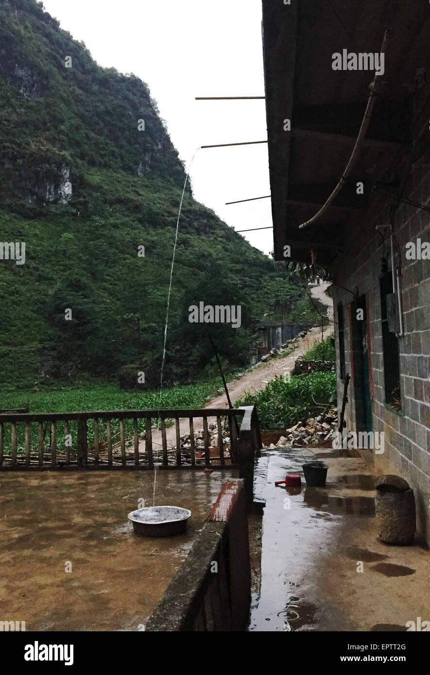 Gesammeltes Regenwasser Stockfotos Gesammeltes Regenwasser Bilder