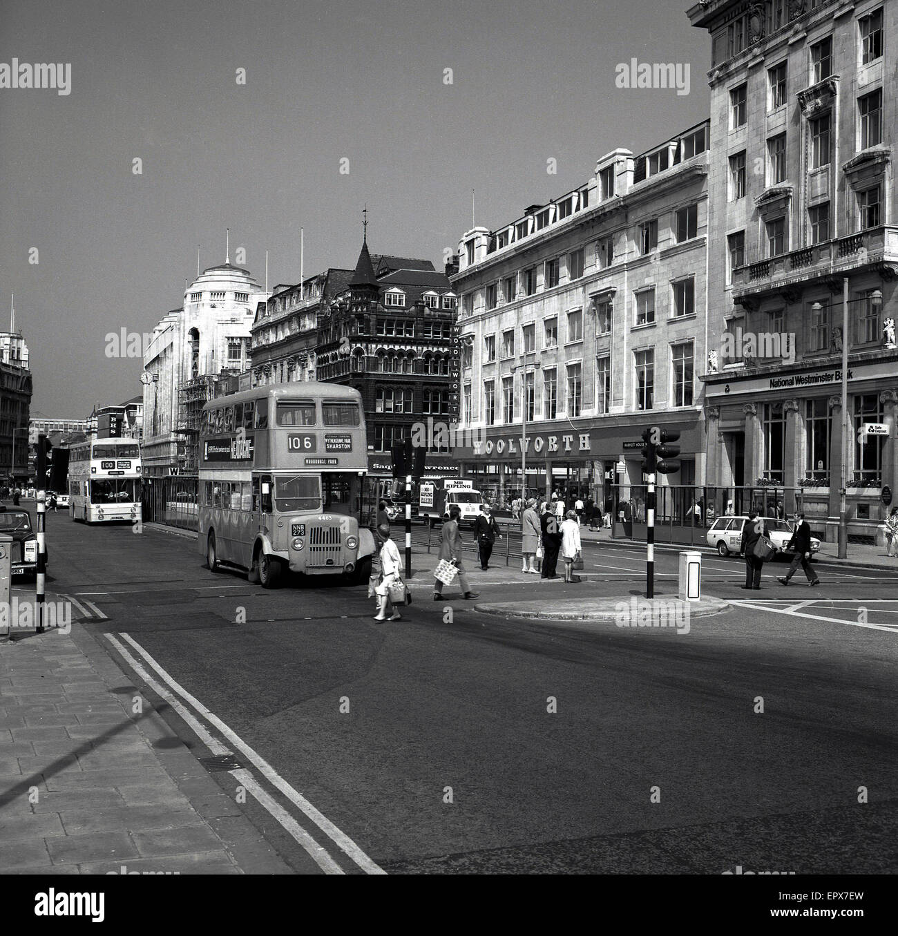 1950er-Jahren, historische, Stockbild
