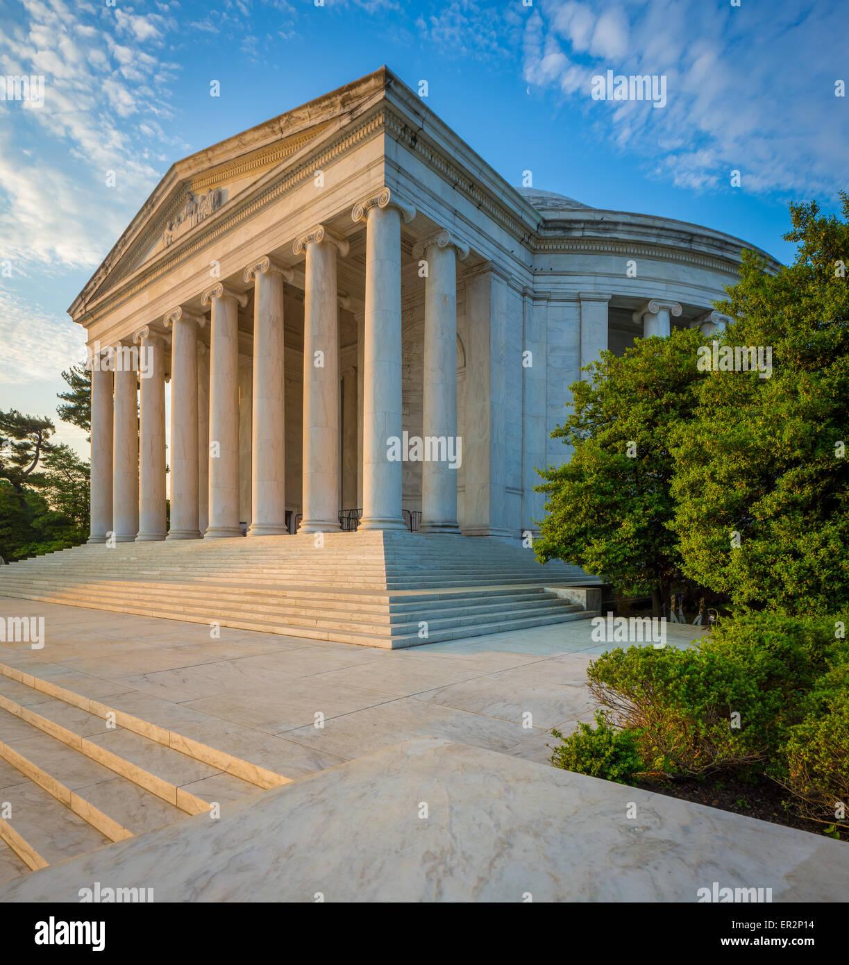 Thomas Jefferson Memorial ist ein presidential Memorial in Washington, D.C. Stockbild