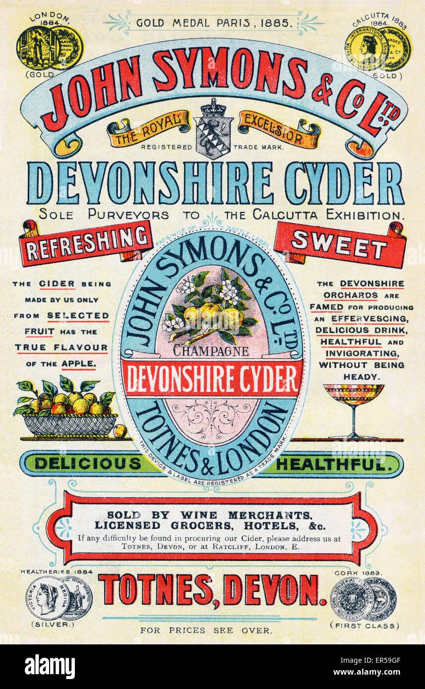 Devon Advert Stockfotos & Devon Advert Bilder - Alamy
