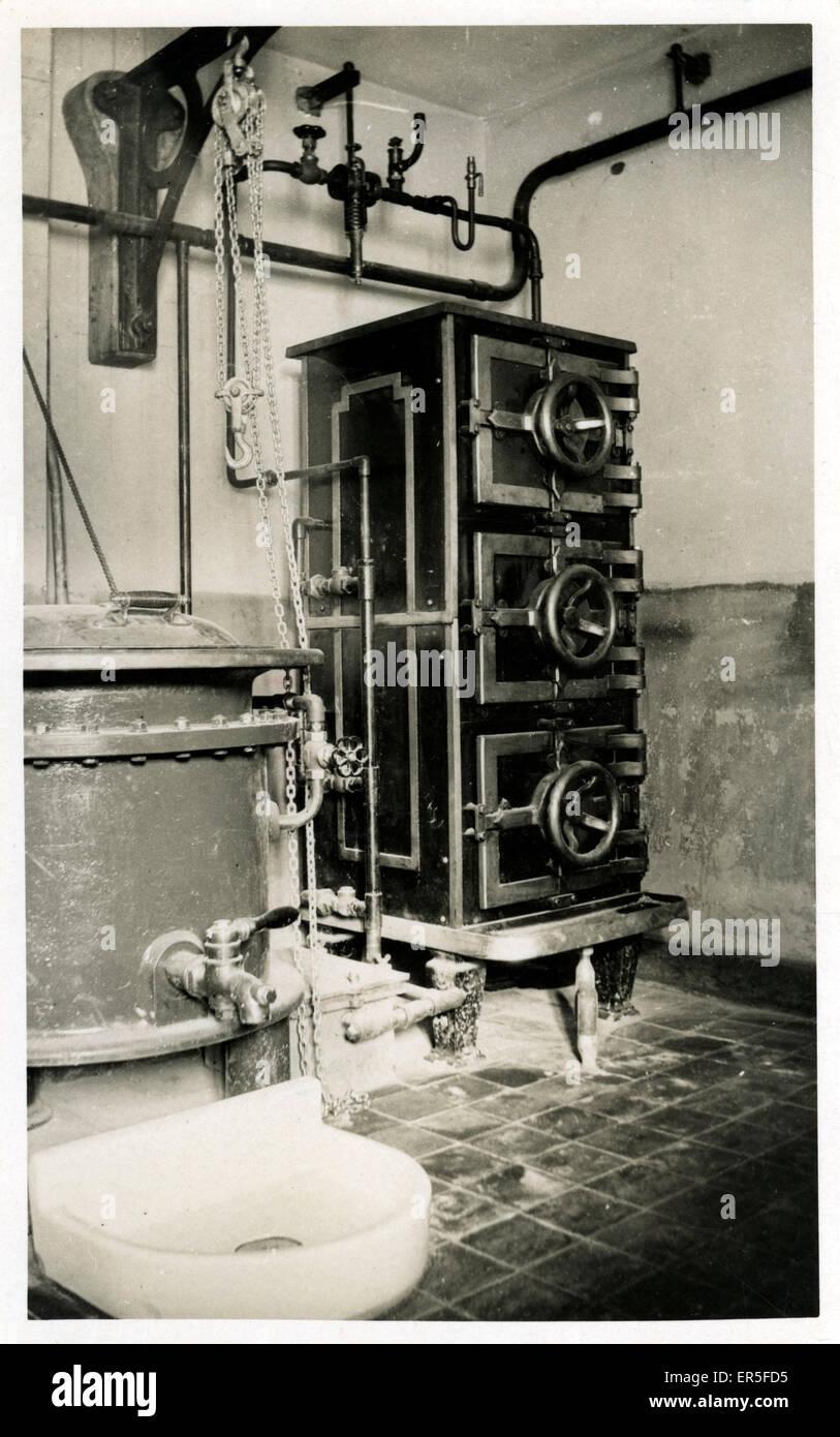 Unbekanntes Gerät, England.  1900er Jahre Stockbild
