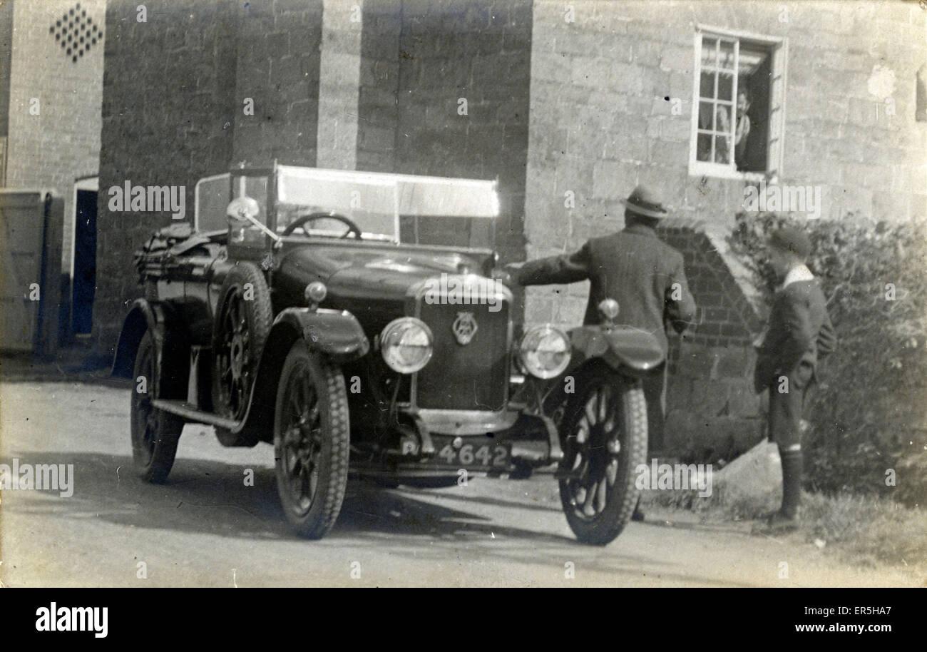 Sunbeam Oldtimer.  1920er Jahre Stockbild