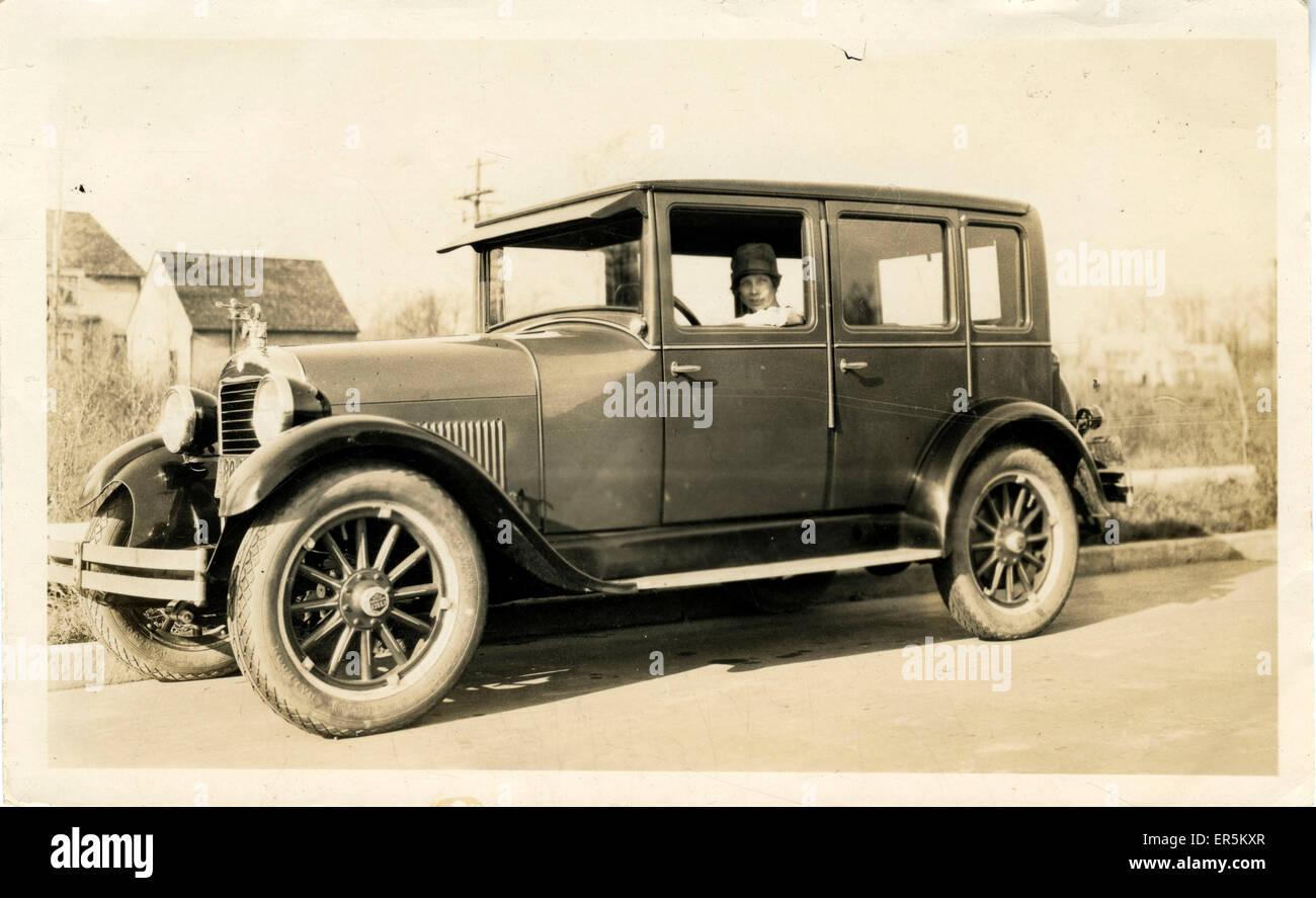Essex Oldtimer.  1920er Jahre Stockbild