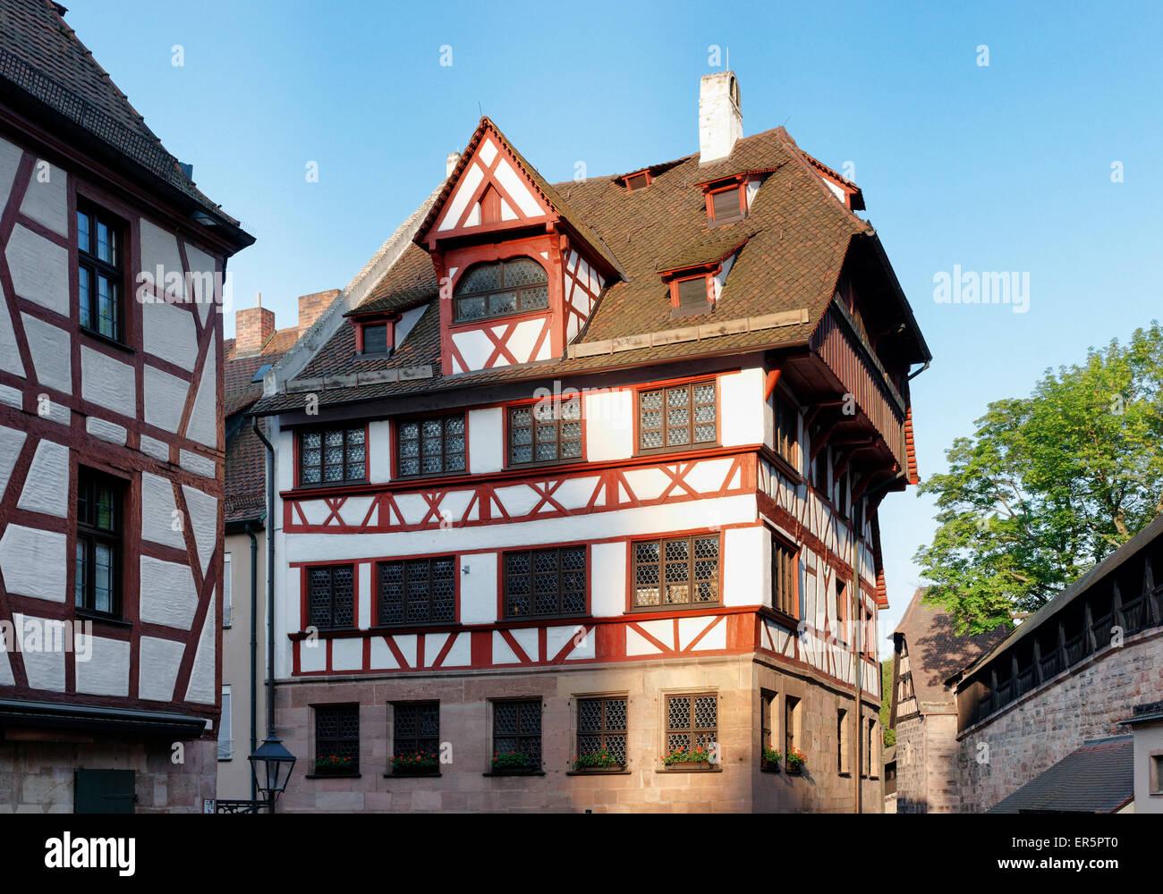 Albrecht-Dürer-Haus, Ort der Arbeit und das Leben des ...
