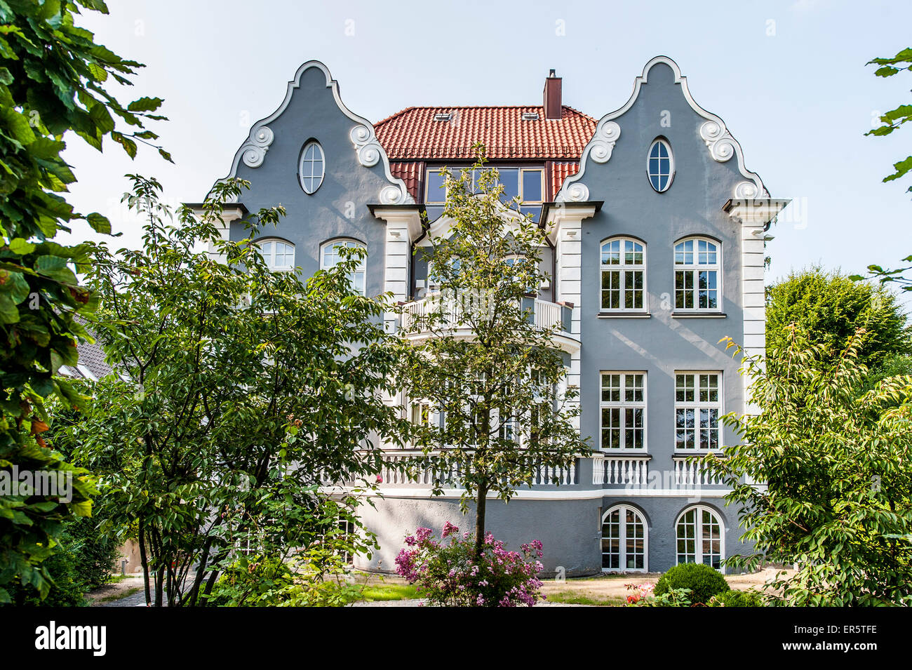 jugendstil villa hamburg deutschland stockfoto bild 83107570 alamy. Black Bedroom Furniture Sets. Home Design Ideas