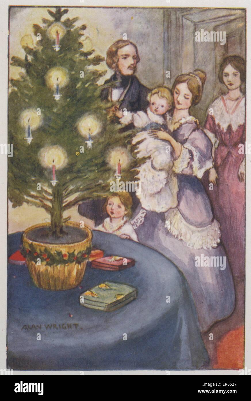 Geschichte Weihnachtsbaum.Der Erste Weihnachtsbaum Geschichte Neujahrsblog 2020