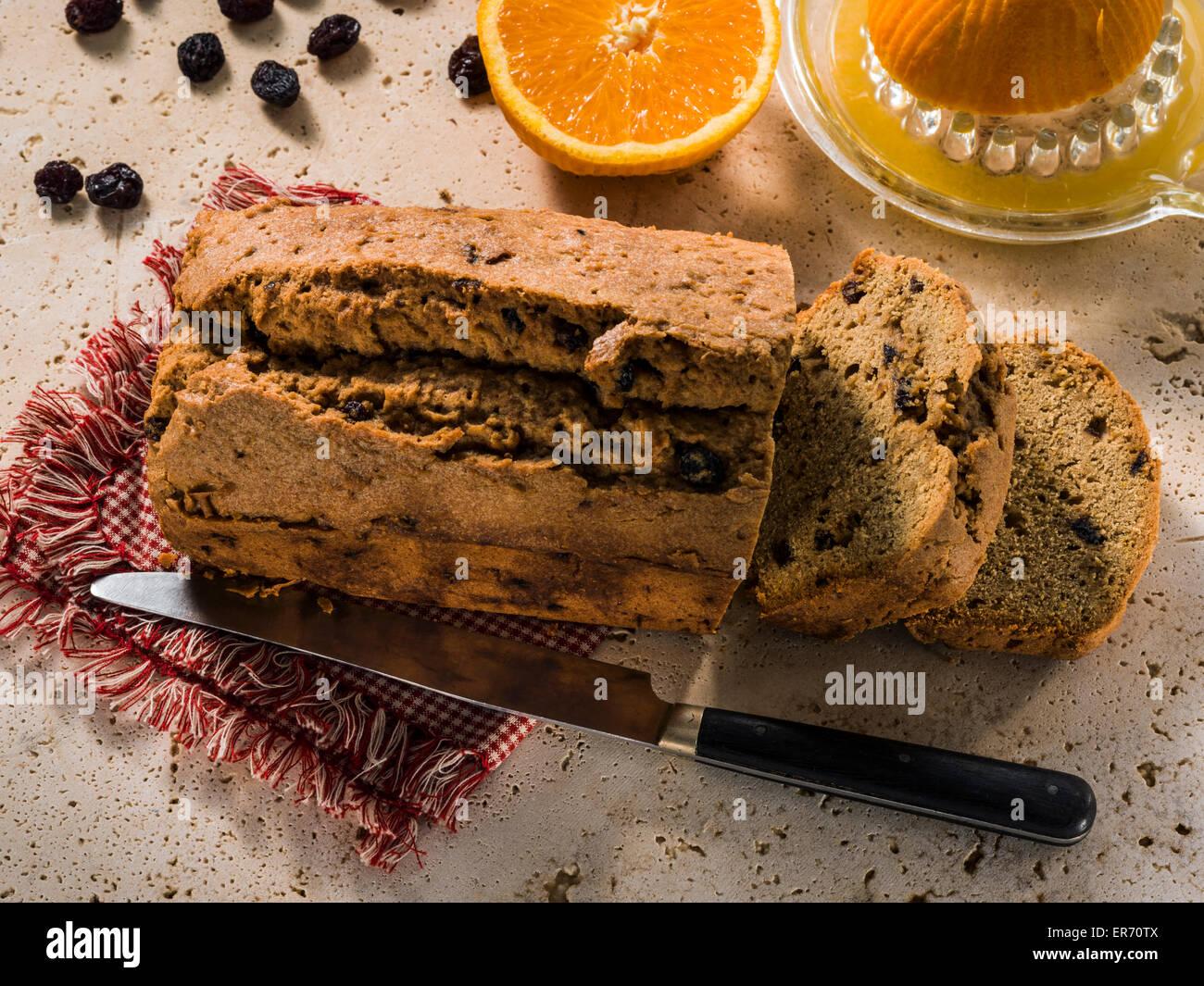 Rum-Kuchen Stockbild