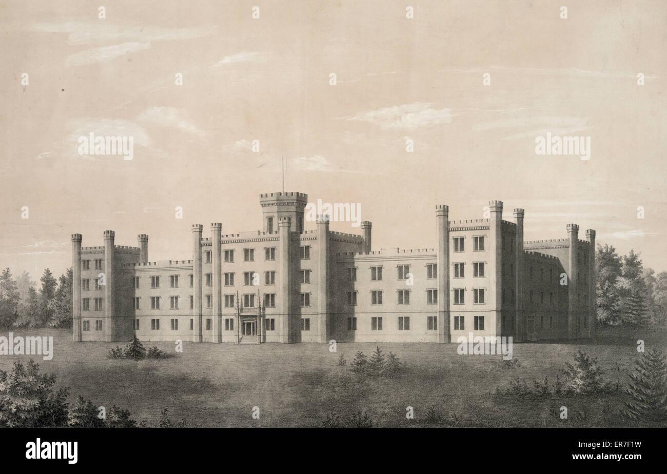 Tennessee State Hospital für Geisteskranke. In der Nähe von Nashville. Stockbild