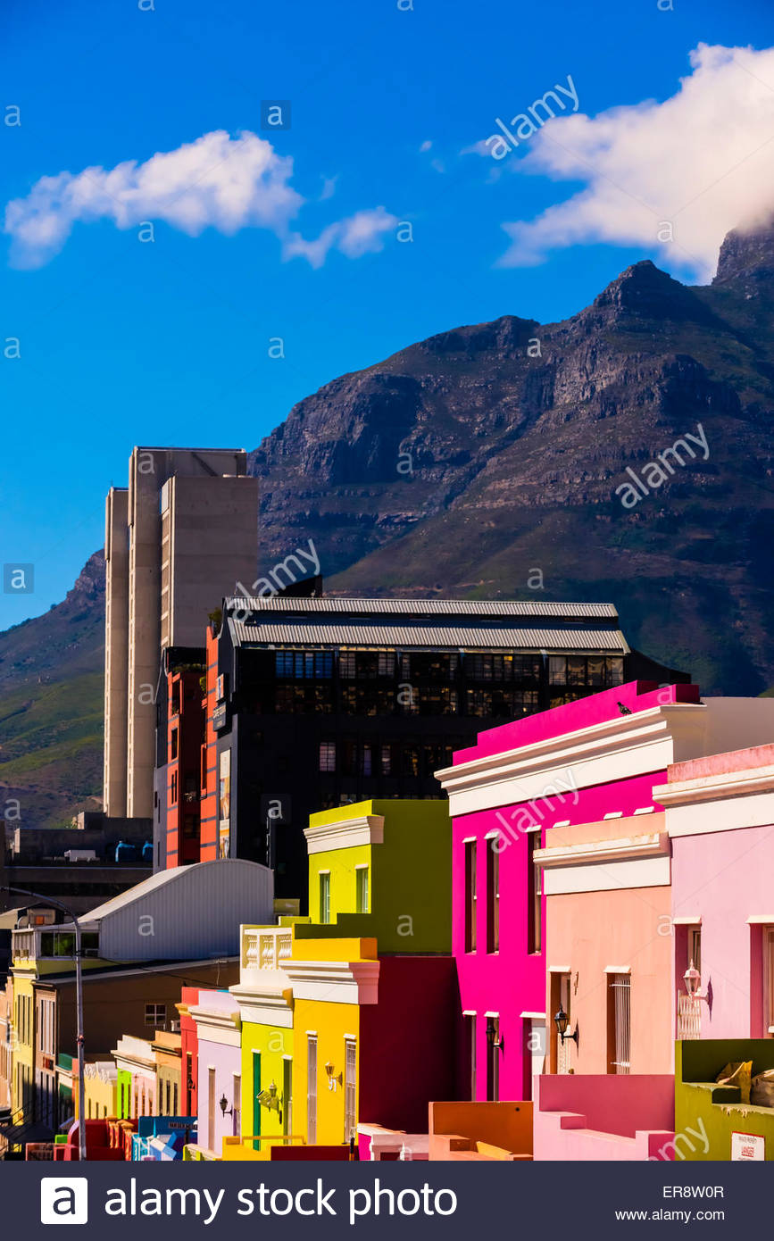 bo kaap south africa stockfotos bo kaap south africa bilder alamy. Black Bedroom Furniture Sets. Home Design Ideas