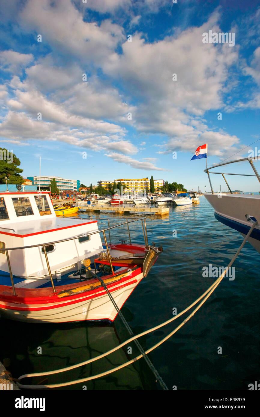 Biograd Na Moru, Kroatien Stockbild