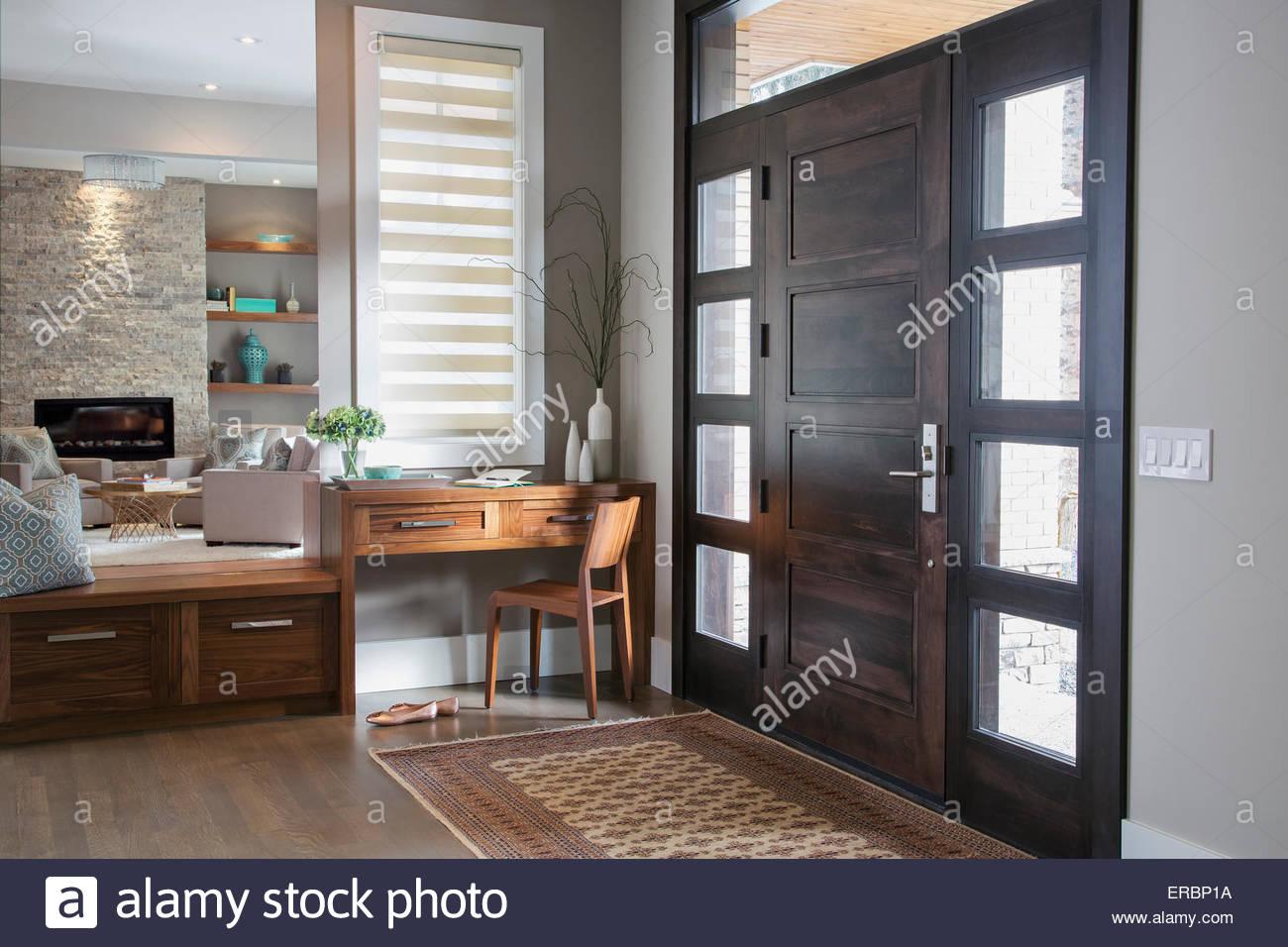 Elegantes foyer Stockbild