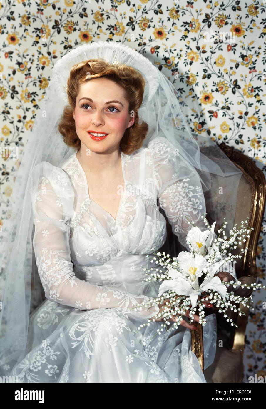 Vintage Wedding Stockfotos & Vintage Wedding Bilder - Alamy