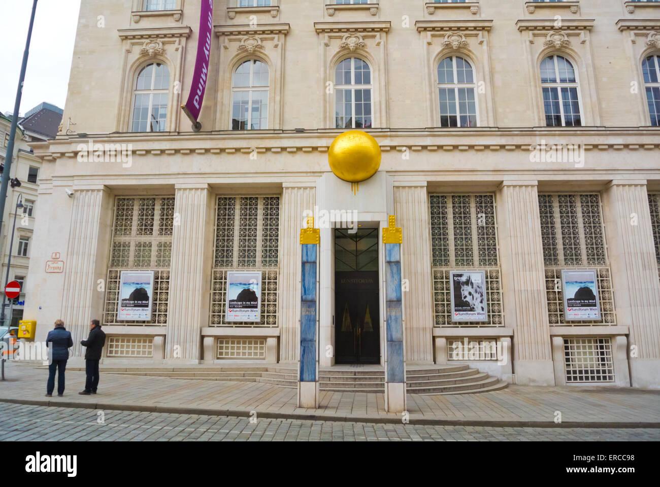 BA-CA KUNSTFORUM, Bank Austria Kunstforum, Freyung, Altstadt ... on