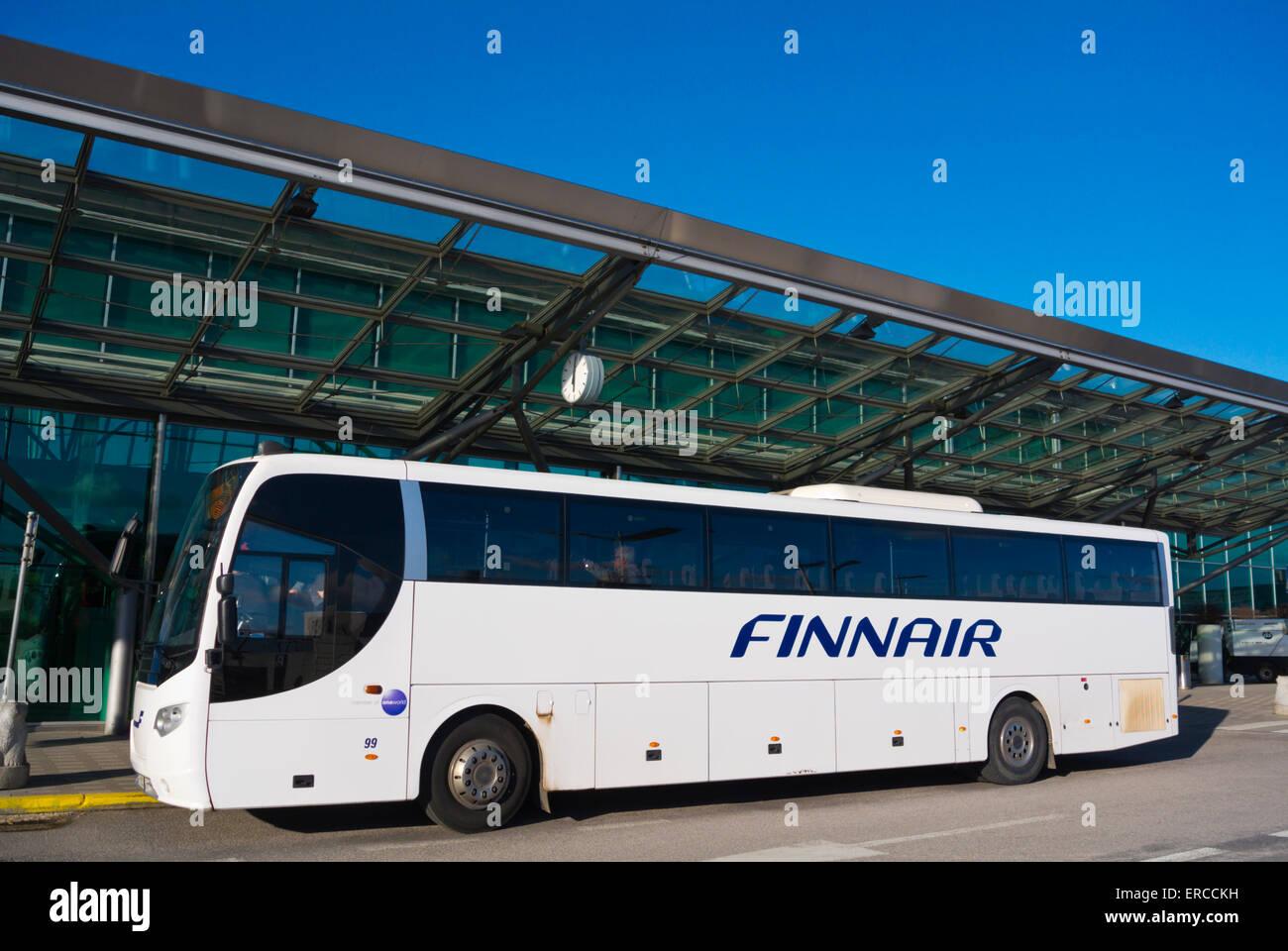 Helsinki Airport Bus Stockfotos & Helsinki Airport Bus Bilder - Alamy