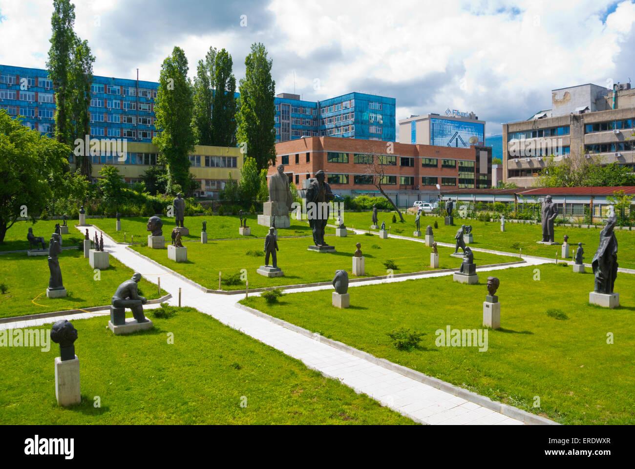 Sozialistischen Kunstmuseum, Izgrev District, Sofia, Bulgarien, Europa Stockbild
