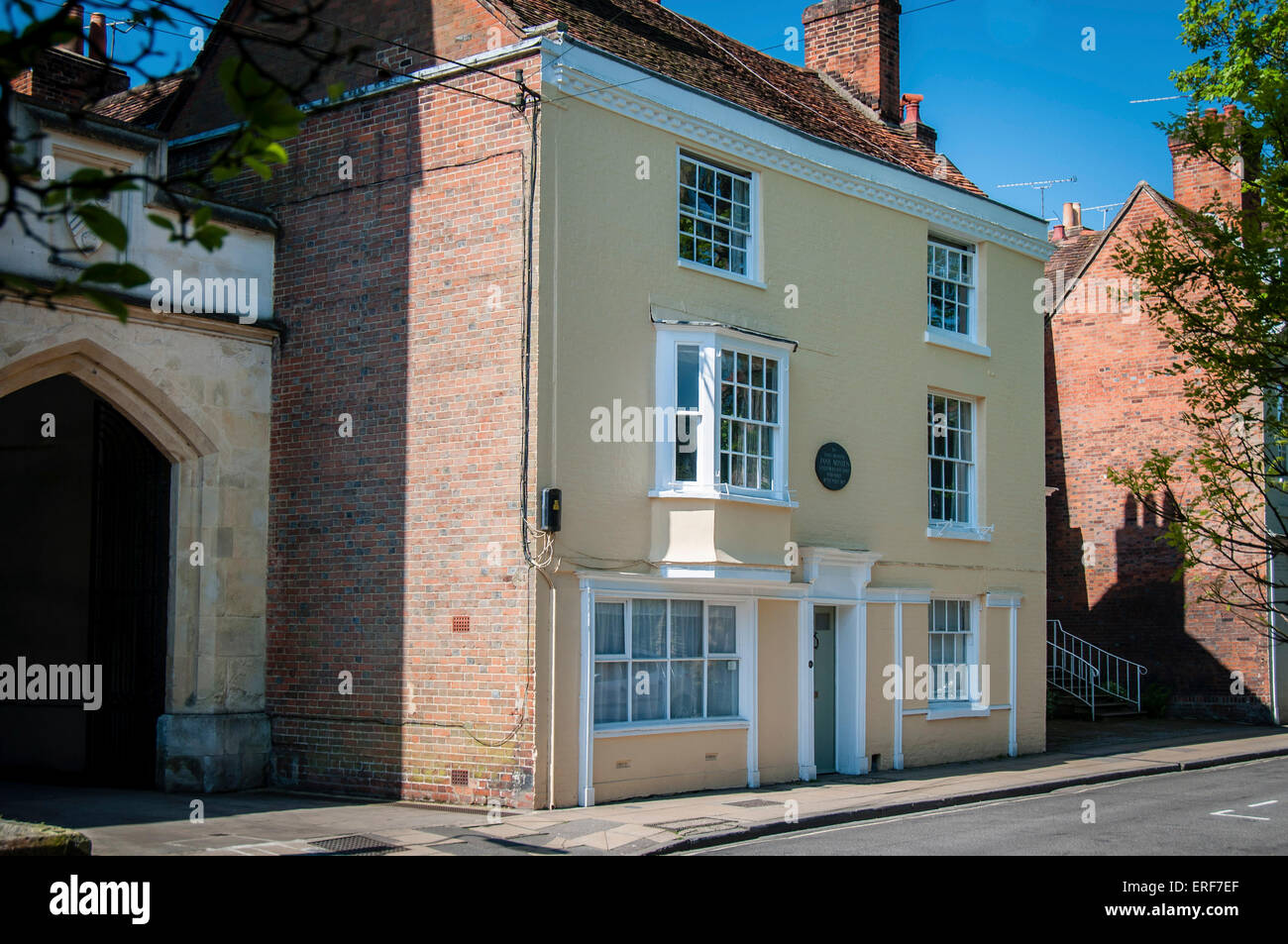 jane austens haus in winchester hampshire england jane. Black Bedroom Furniture Sets. Home Design Ideas
