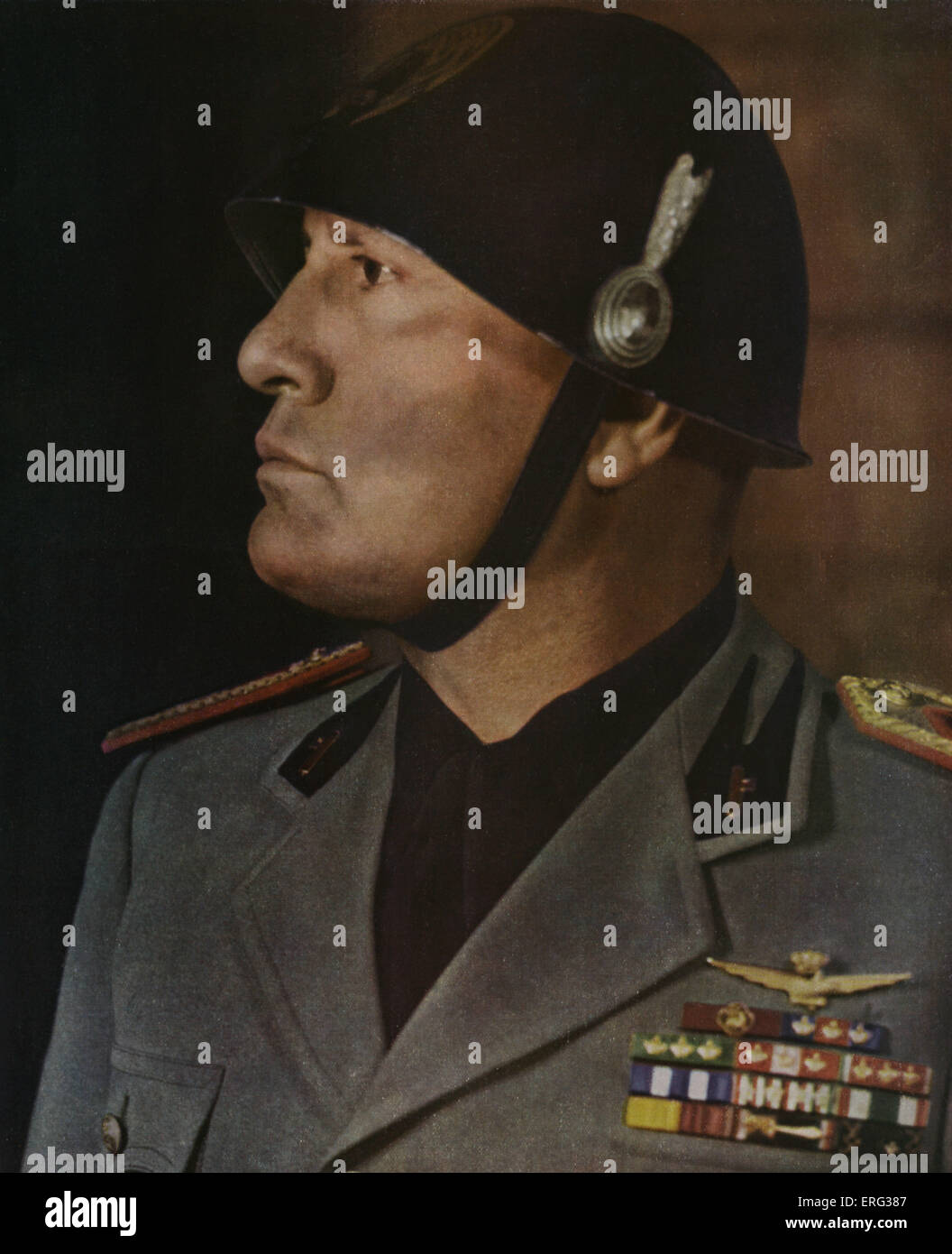 benito mussolini aka il dulce Download this stock image: portrait of benito mussolini aka 'il duce' italian fascist dictator - d8yr7d from alamy's library of millions of high resolution stock photos, illustrations and vectors.
