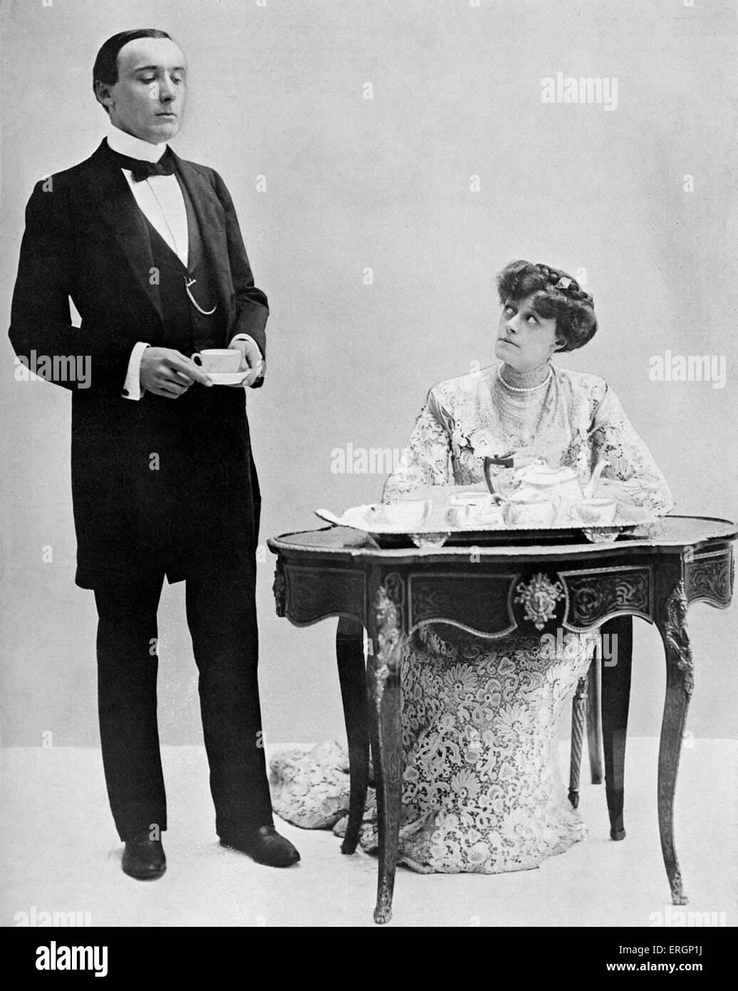 """J M Barrie """"The Admirable Crichton"""", Komödie, geschrieben im Jahre 1902. Harry Brodribb Irving als Stockbild"""