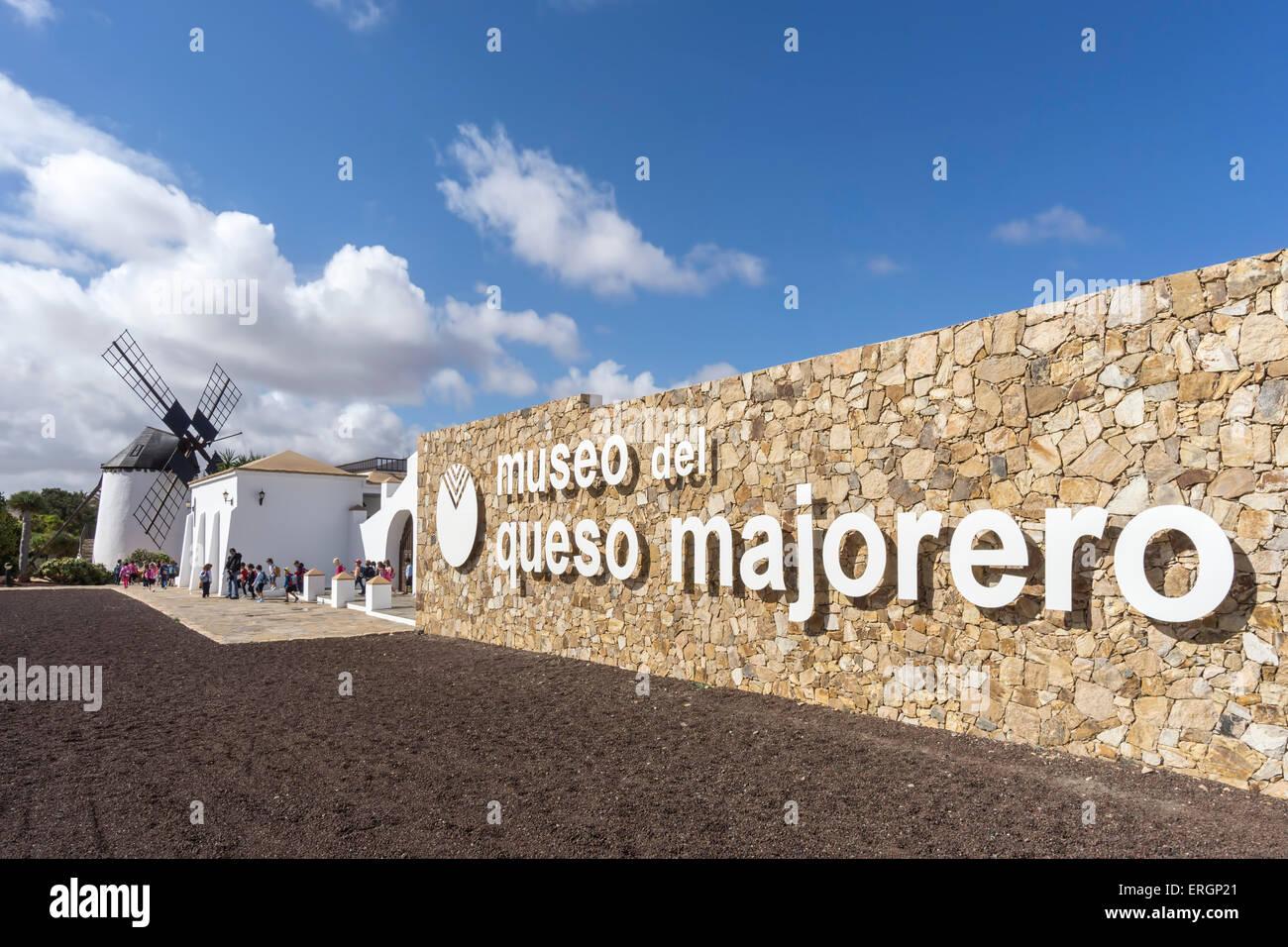 Museo del Queso Majorero, Museo Molino, Antigua, Kanarische Inseln, Spanien Stockbild