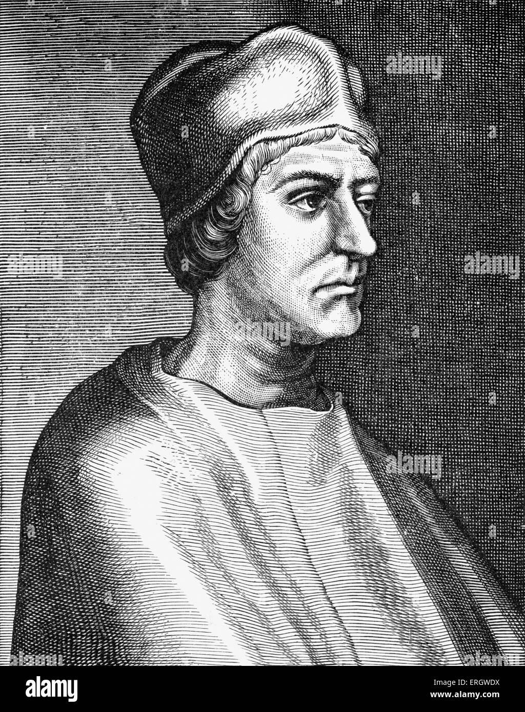 John Colet 1620. Englischer Geistlicher und pädagogische Pionier: Januar 1467 ? 10 September 1519. Stockbild