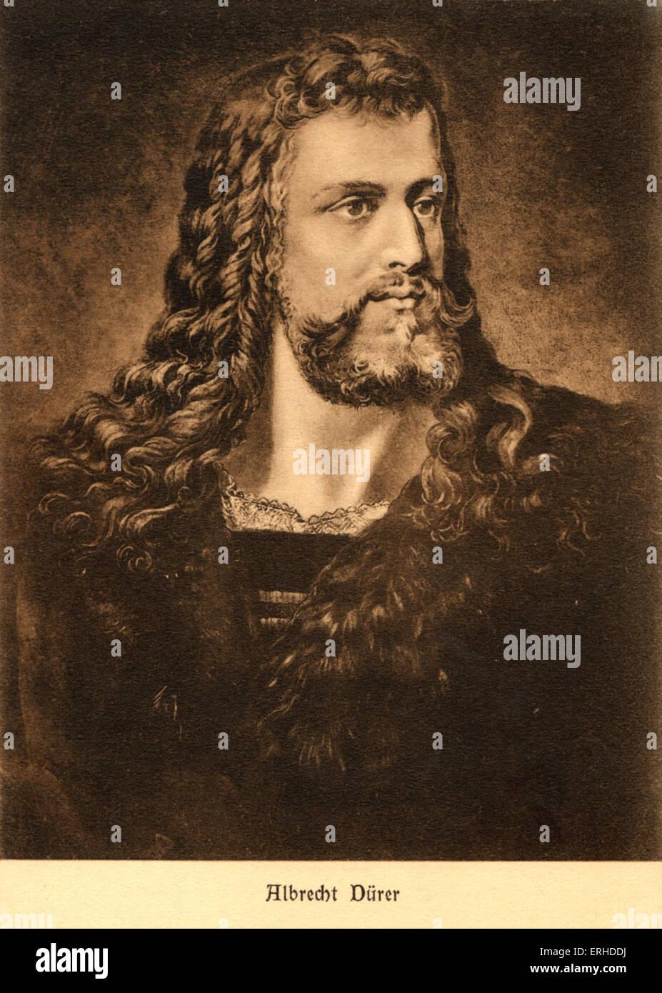 Albert Dürer, deutscher Künstler, 1471-1528. Stockbild