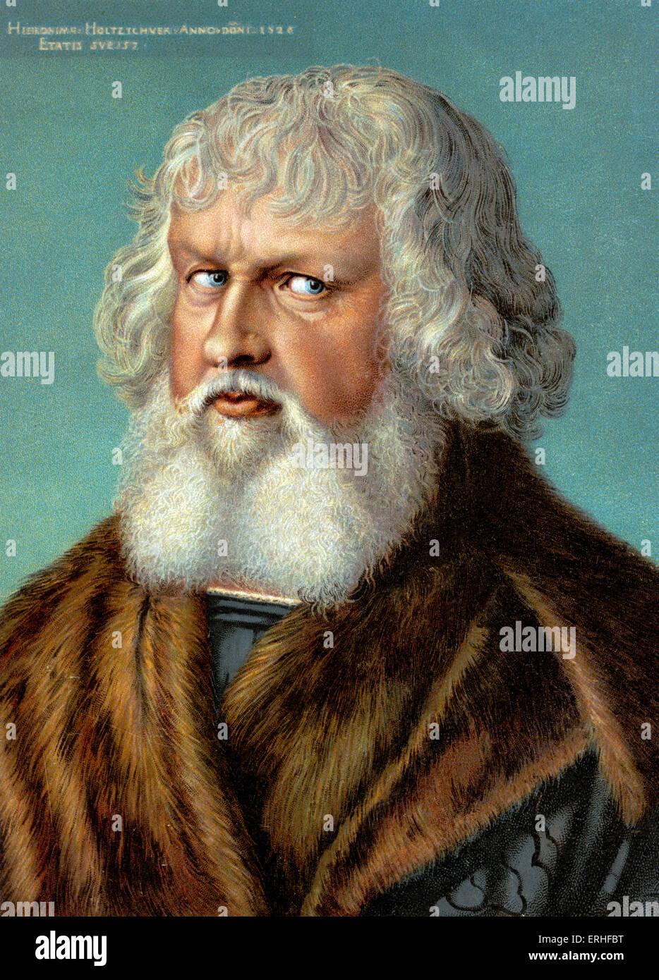 Albrecht Dürer - deutscher Künstler, Maler - Porträt 21 Mai 1471-6 April 1528 Stockbild