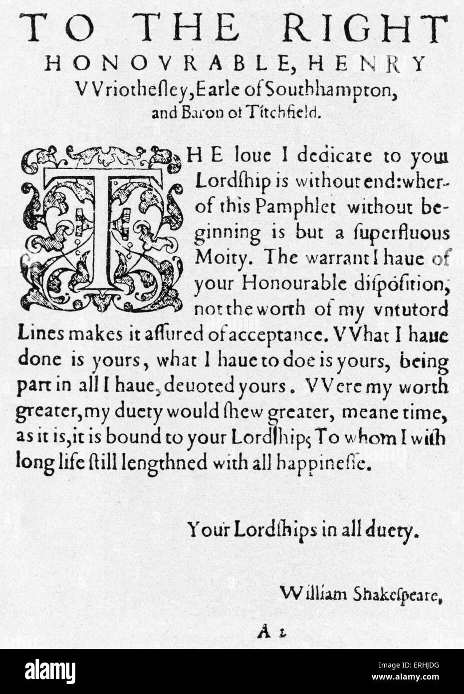 gedicht shakespeare