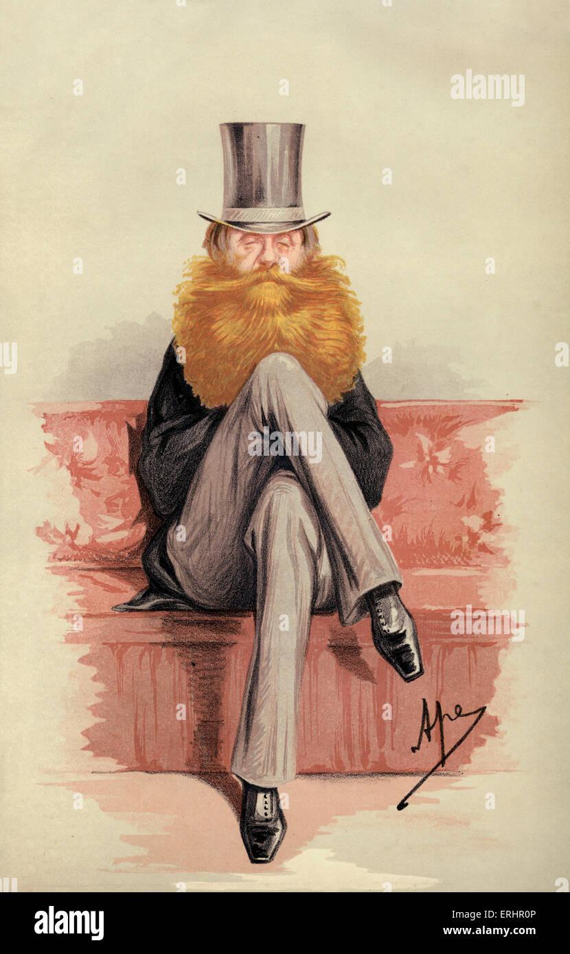 Earl Spencer - 2. Juli 1870.  Cartoon für die Vanity Fair. ES: Titel in der Peerage of Great Britain, die am Stockbild