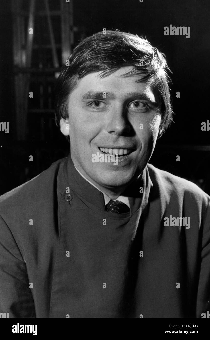 Stuart Beer, Chorleiter in Manchester Cathedral, 6. Dezember 1982. Manchester Kathedrale ist eine mittelalterliche Stockbild