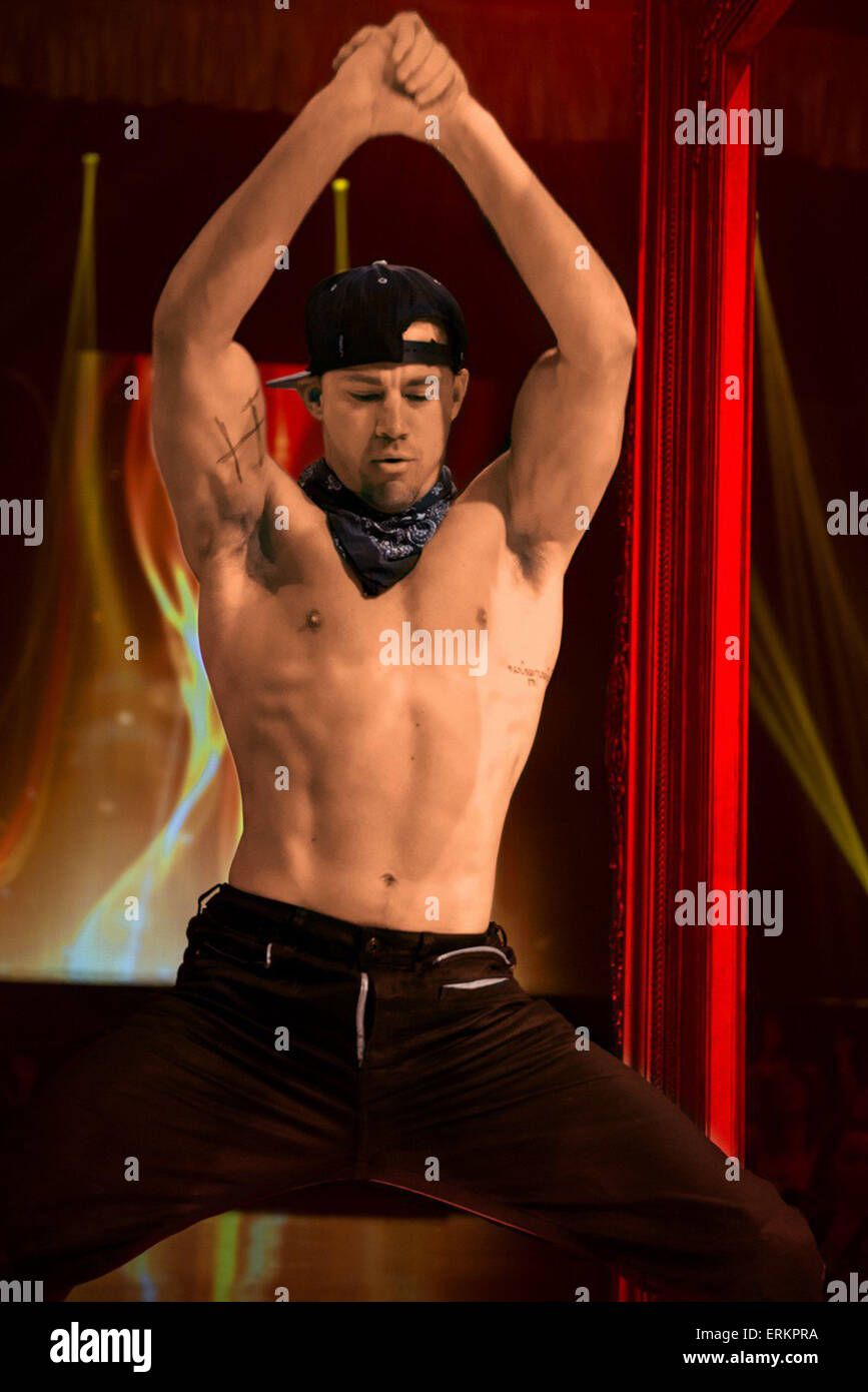 MAGIC MIKE XXL (2015) CHANNING TATUM GREGORY JACOBS (DIR) Stockbild