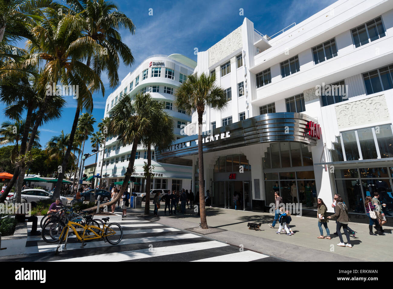 Lincoln Road Mall South Beach Miami Beach Florida Vereinigte