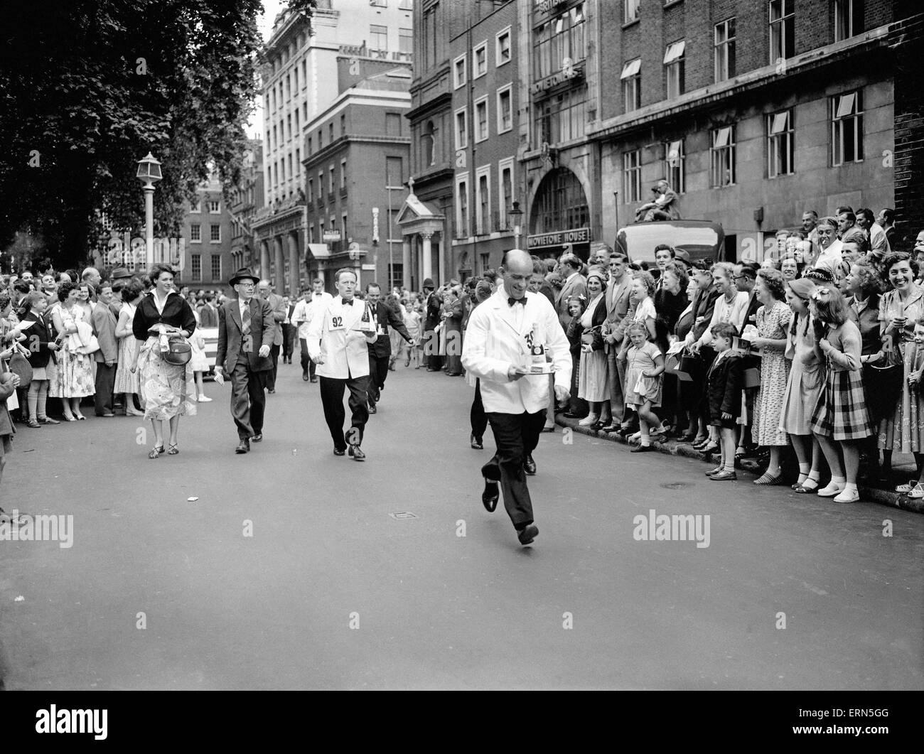 Soho-Karneval, 10. Juli 1955. Stockbild