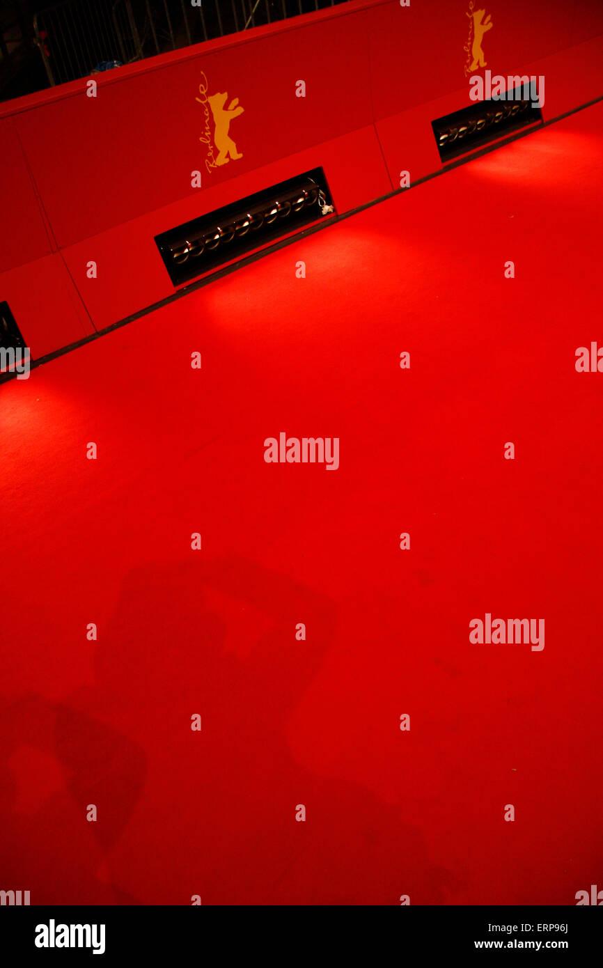 7. Februar 2013 - BERLIN: roter Teppich - Impressionen aus der Berlinale Filmfestspiele Berlinale Palast Berlinale Stockbild