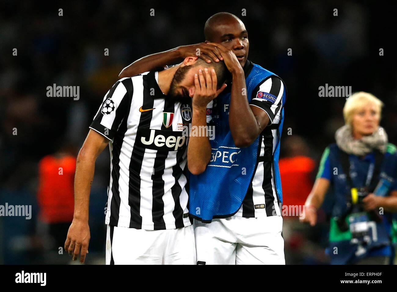 Berlin (Deutschland). 6. Juni 2015. Fußball / Fußball: Uefa Champions League - Finale Juventus Vs Barcellona Stockbild