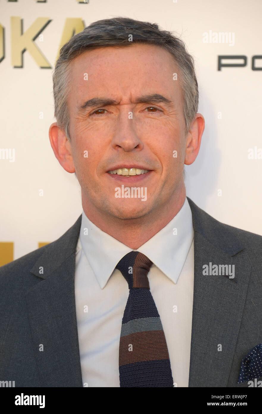 Schauspieler Steve Coogan, Los Angeles, CA Stockbild