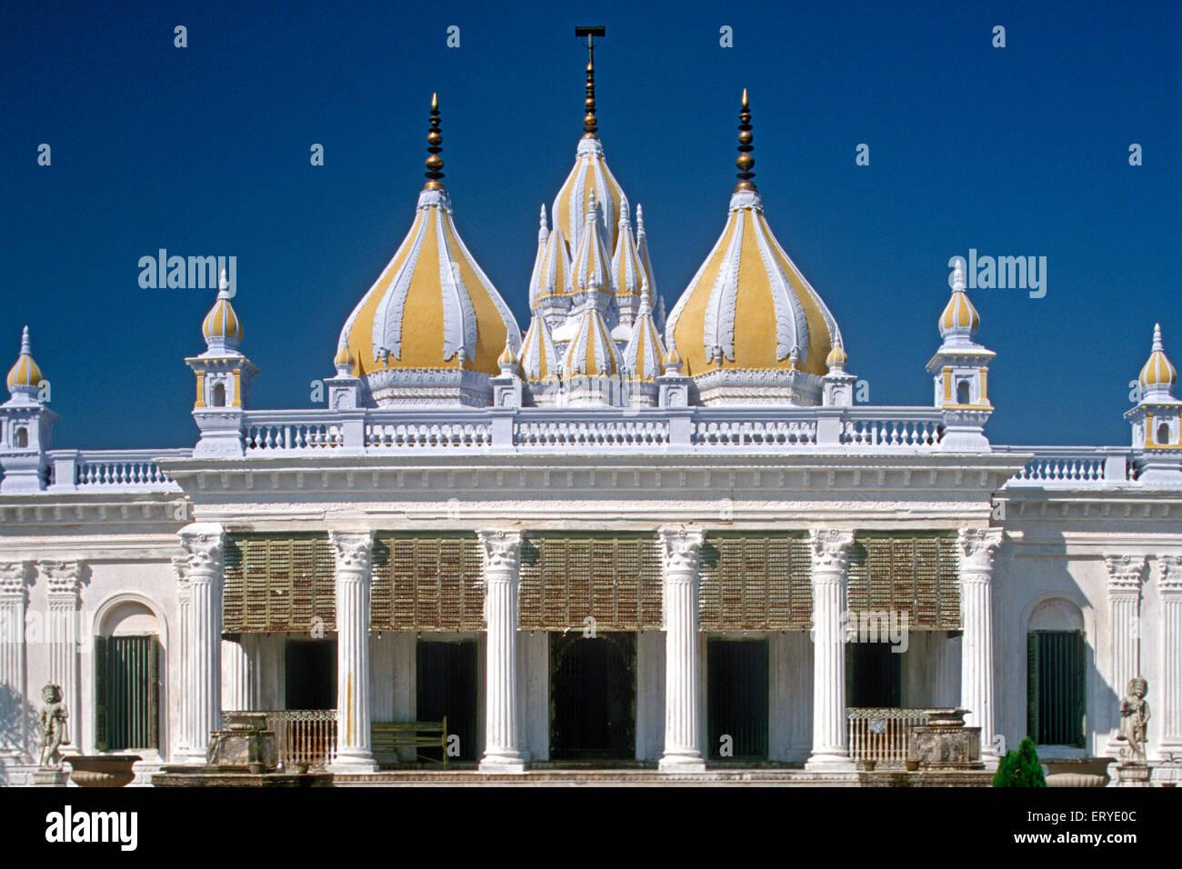 Über architektonisches Erbe; CPA Piramal Galerie in Mumbai; erste Parasvnath Jain-Tempel; Murshidabad Stockbild