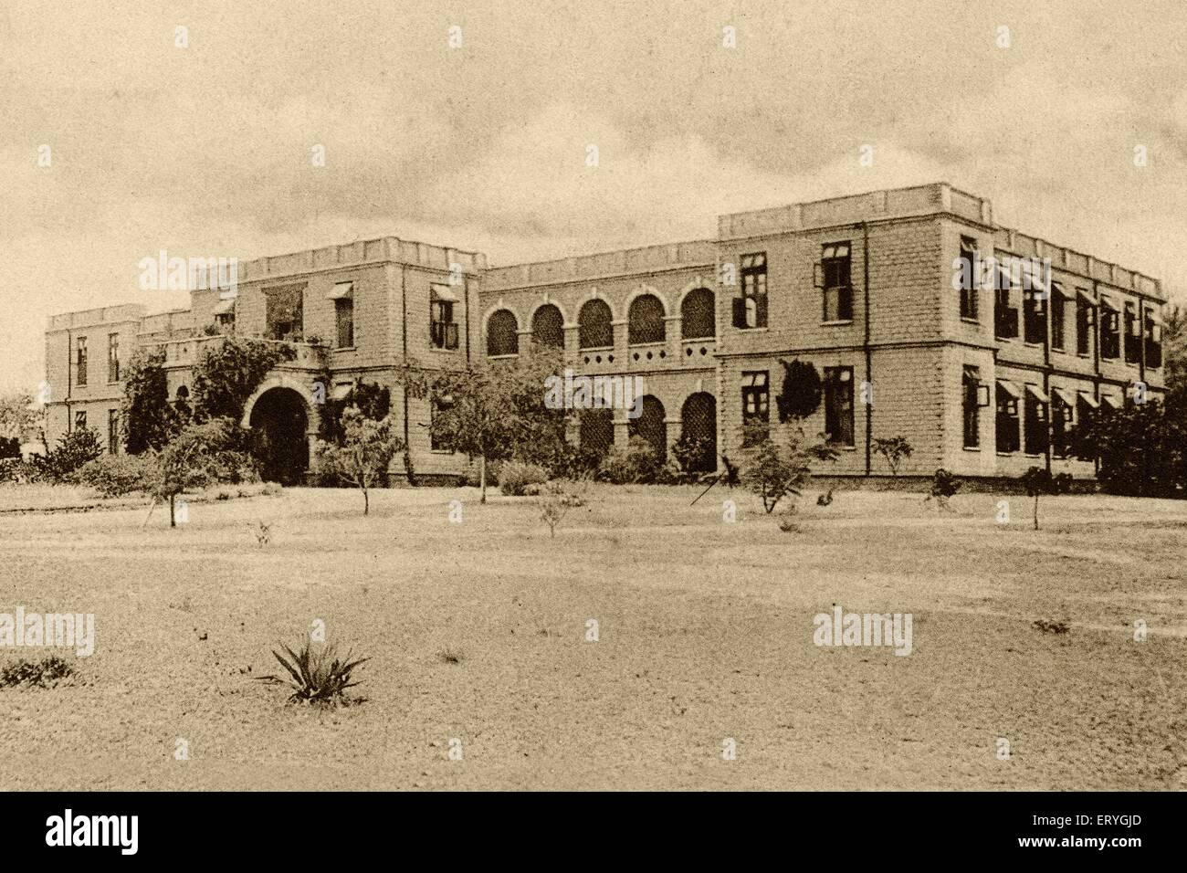 Zenana Missionshospital; Bangalore; Karnataka; Indien Stockbild