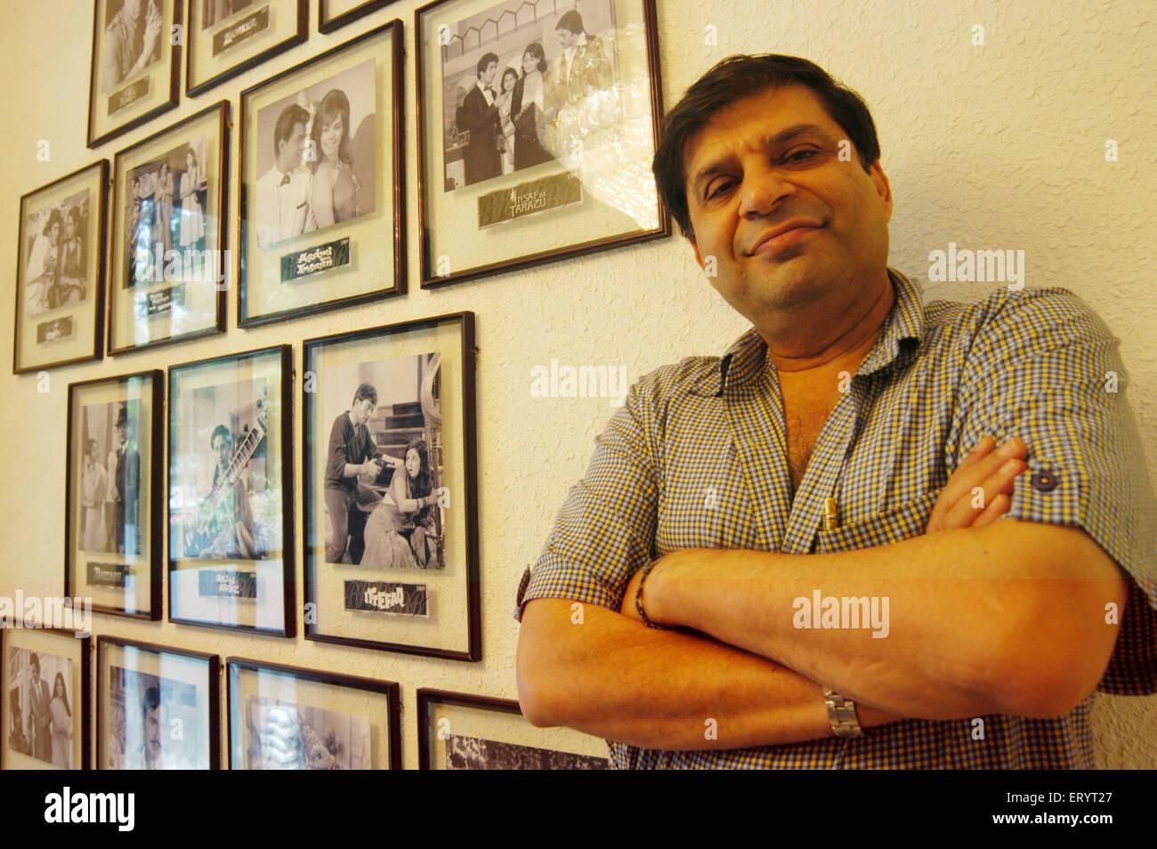Ravi Chopra Filmproduzent und Regisseur Nein Herr Stockbild