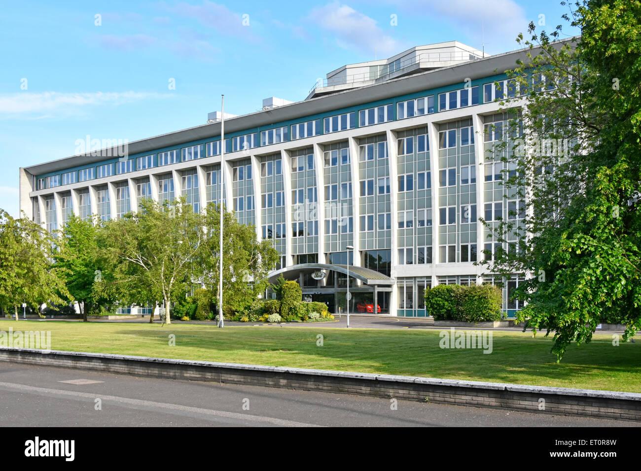Bürogebäude der Ford von Großbritannien an Warley Brentwood Essex England Großbritannien eine Stockbild