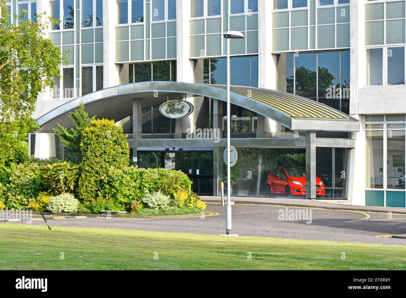 Bürogebäude der Ford von Großbritannien an Warley Brentwood Essex England Großbritannien Teil Stockbild