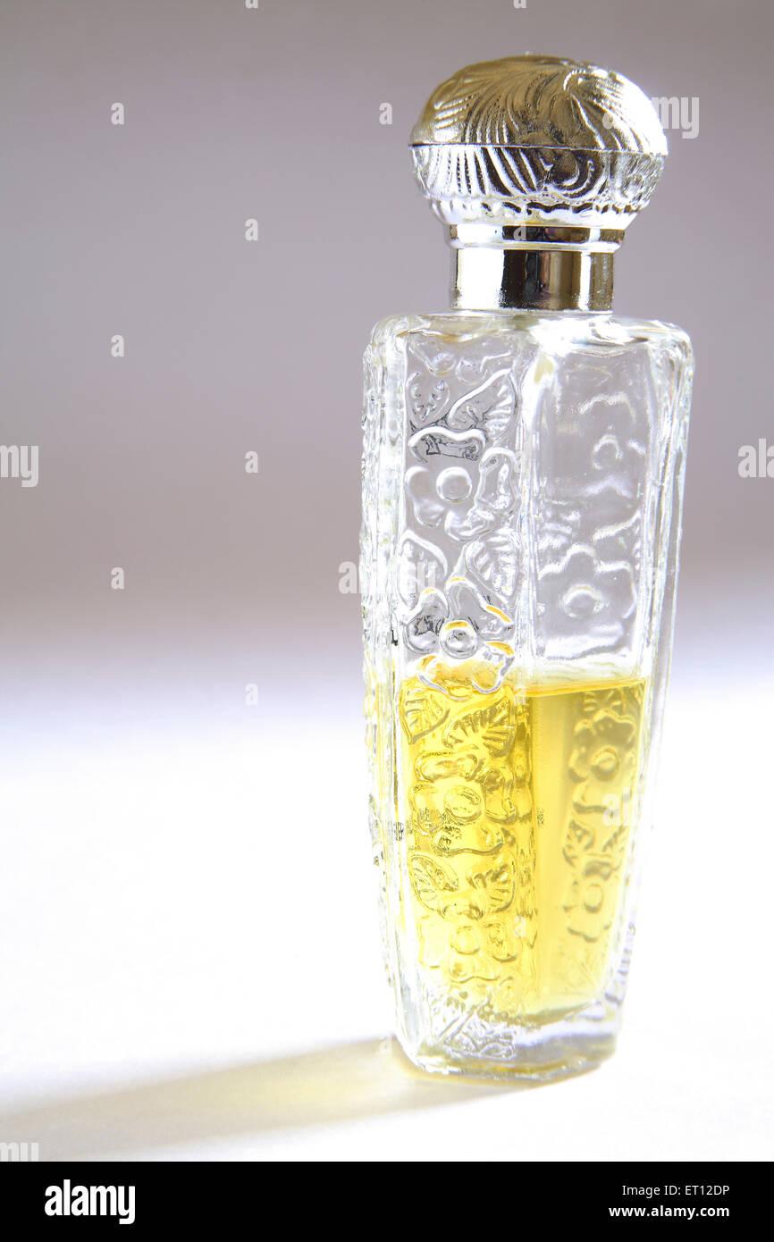 ITRA; Essenz; Parfüm-Flasche; Indien Stockbild